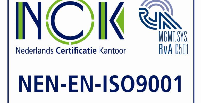 ISO 9001:2015, VCA** en FSC/PEFC Certificeringen