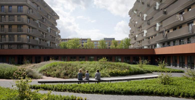 Bouwproject 'De Ontmoeting' in Amstelveen